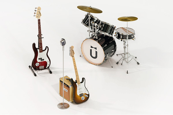 3 Piece Band